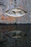 Stone Eyes — Stock Photo