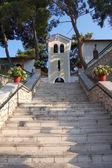 Stairs to Faneromeni monastery — Stock Photo