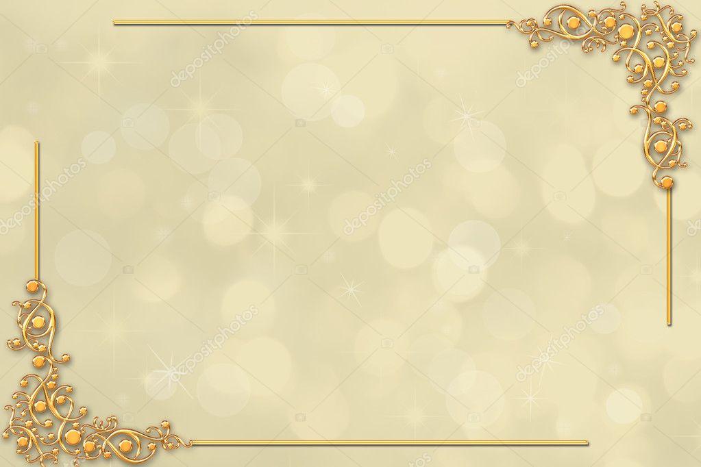 Borda Decorativa Casamento Ou Convite Stock Photo 169 O