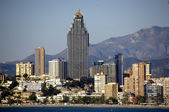 SKYLINE BENIDORM — Stock Photo