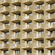 FASSADE BENIDORM - Stock Photo