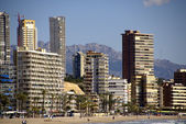 BENIDORM LEVANTE PANORAMA — Stock Photo