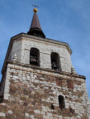 KIRCHTURM SANTA CRUZ DE MUDELA — Stock Photo