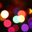 Defocused light effects holiday — Stock Photo