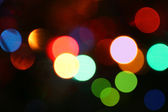 Defocused light effects — Stock Photo