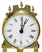 Golden watch close up — Stock Photo
