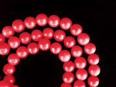 Coral necklace — Stock Photo