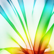 Organza as abstract wave  background — Stock Photo