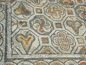 Ancient mosaic as background — Stock Photo