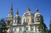 Orthodox russian church — Stock Photo
