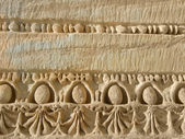 Bas-relief ancient art — Stock Photo
