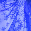Floral organza  as abstract wave  backgr — Stock Photo