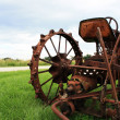Old Rusty Tractor — Stock Photo #2282545