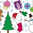 Royalty-Free Stock Imagen vectorial: Christmas Doodles