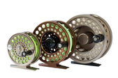 Fly Reels — Stock Photo