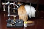 Fly Tying Equipment — Stock Photo
