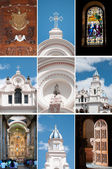 Church Collage — Stock Photo