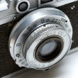 Lens of the old camera — Stock Photo