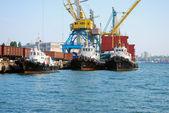 Námořní přístav — Stock fotografie
