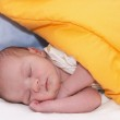 Sleeping newborn — Stock Photo