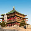 Bell Tower in Xian, China - Stock Photo