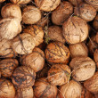 Walnuts background — Stock Photo