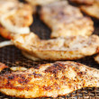 Grilled chicken meat - Stock Photo
