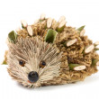 Stock Photo: Handmade hedgehog