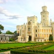 Bohemian castle Hluboka nad Vltavou — Stock Photo