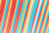 Color straws as a background — Stock Photo