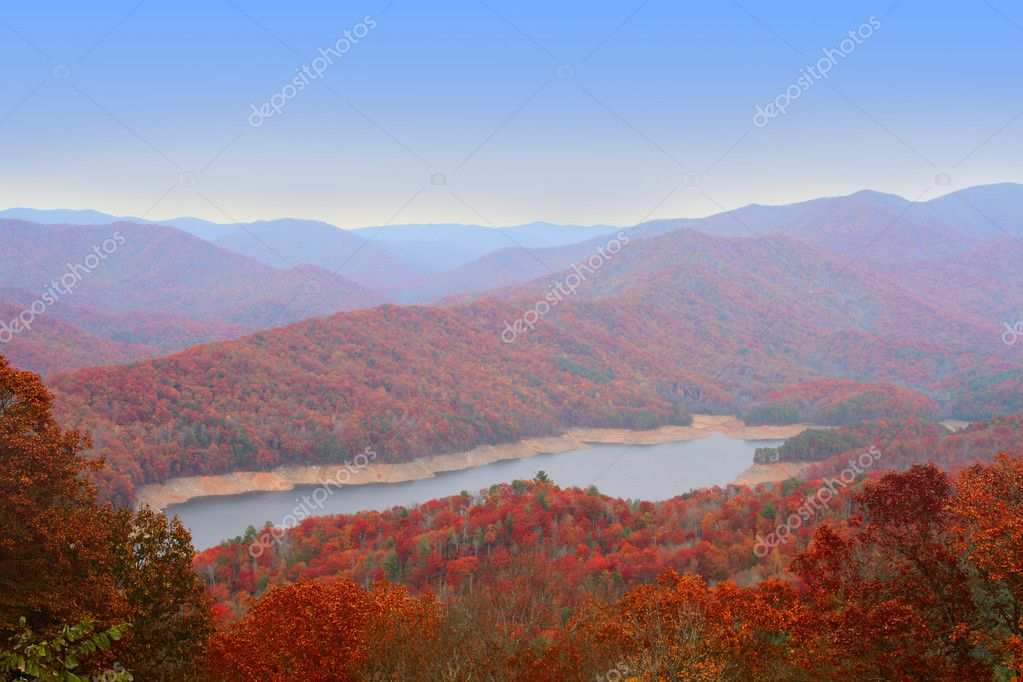 Autumn in Great Smoky Mountains, USA — Foto Stock #2259765