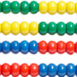 Color abacus background — Stock Photo