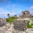 Royalty-Free Stock Photo: Mayan ruins in Tulum, Mexico