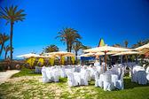 Banquet at the sea, Djerba, Tunisia — Stock Photo