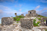 Mayan ruins in Tulum, Mexico — Stock Photo