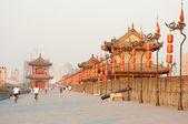 Xian city wall, china — Stock Photo