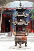 Taoist temple, Xian, China — Stock Photo