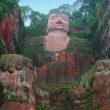 Leshan Giant Buddha, Sichuan, China - Stock Photo