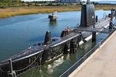Submarine USS Clamagore — Stock Photo