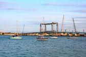 桥梁施工中圣奥古斯汀 — 图库照片