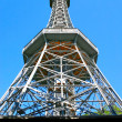 Lookout Tower on Petrin Hill, Prague — Stock Photo