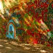 Lennon's Wall, Prague — Stock Photo