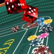 Stock Photo: Casino craps 3