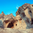 Stock Photo: Church in rock - ruins in Cappadocia