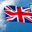Flag: United Kingdom of Great Britain — Stockfoto