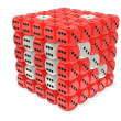 Red dice cube — Stock Photo