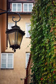 Street lamp - vintage — Stock Photo
