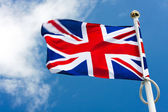 Flag: United Kingdom of Great Britain — Stock Photo