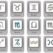 zodiac signs — Stock Photo