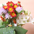 Flowers bouquet close up — Stock Photo #2284606